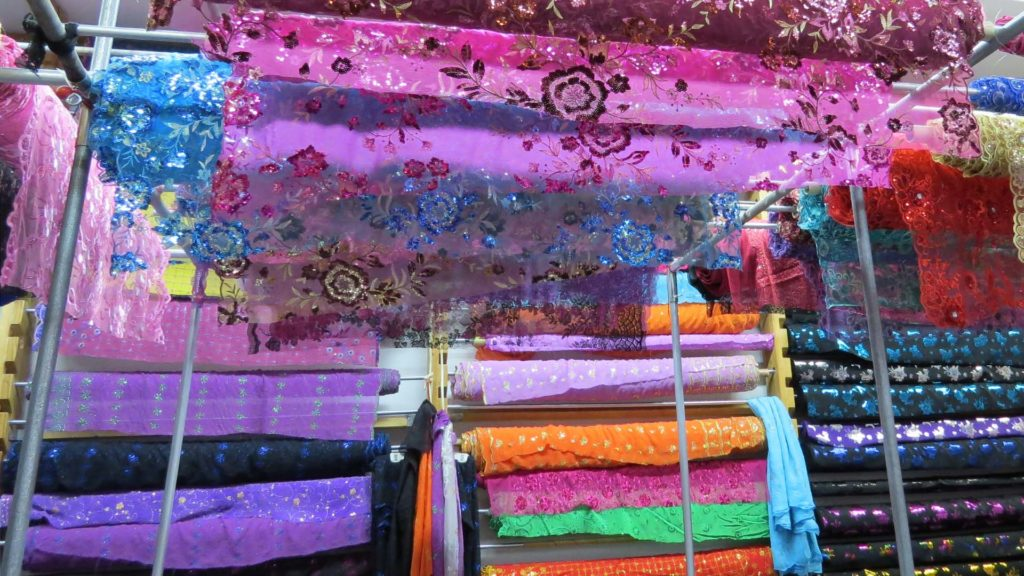 Minh Phat Fabric, Photo by Barbara L Steinberg